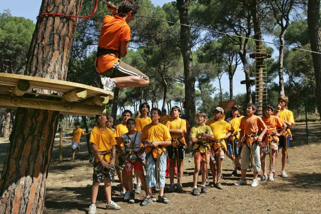 aventura barcelona natupark