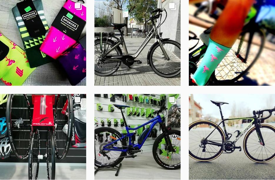 tienda de bicicletas en Sant Cugat